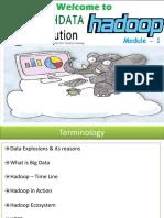 Student_Module 01 - Basics of Hadoop