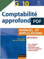 (LMD expertise comptable.) Burlaud, Alain_ Friederich, Micheline_ Langlois, Georges_ Walliser, Elisabeth-DCG 10 _ comptabilité approfondie _ manuel _ 2015_2016-Sup'Foucher (2015)