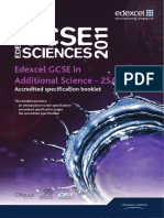 Gcse Additional Science Spec