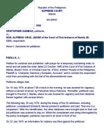 A. Gamboa vs. Cruz [G.R. No. L-56291, June 27, 1988]