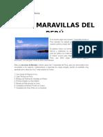 7 MARAVILLAS DEL PERU