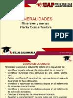 1.0 Generalidades - Minerales y Menas