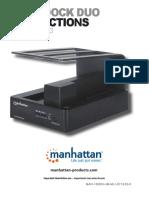 Manual en de HDD Dock Manhattan