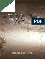 Men of War Manual