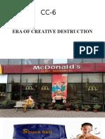 Era of Creative Destruction