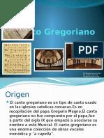 Canto Gregoriano 1