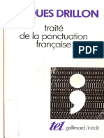 Drillon, Traite de Ponctuation Francaise