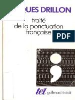 Drillon, Traite de Ponctuation Francaise