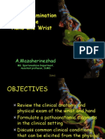 Hand Examination