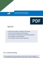 IIP Social Stratgey