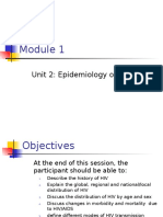 01.02 Epidemiology of HIV Infection