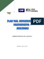 Planes Viales AMAZONAS Pvdp Amazonas
