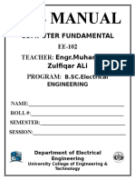 Lab Manual Itc