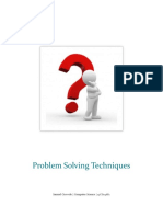 Problem Solving Techniques by Samuel Oyewole