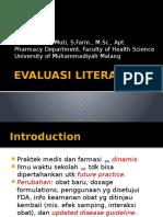 Evaluasi Literatur