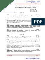 Cse-V-Formal Languages and Automata Theory [10cs56]-Notes