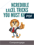 40 Incredible Excel Tricks You Must Know