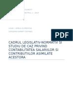 Ceccar 2014 Semestrul 1