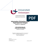 Extraction of Data From Hyperspectral Image