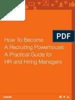Recruiting Powerhouse eBook