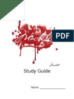 00 macbeth study guide