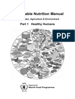Sustainable Nutrition 1 (June 2016, Print) Healthy Humans