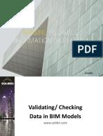 Validating Data in BIM Models