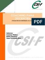 Importante Libro Coaching Docentes