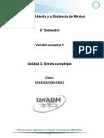 U3. Series Complejas