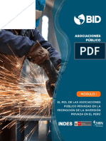 BID- APP y la promoción de Inversión privadas