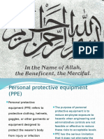 Presentation on PPE's