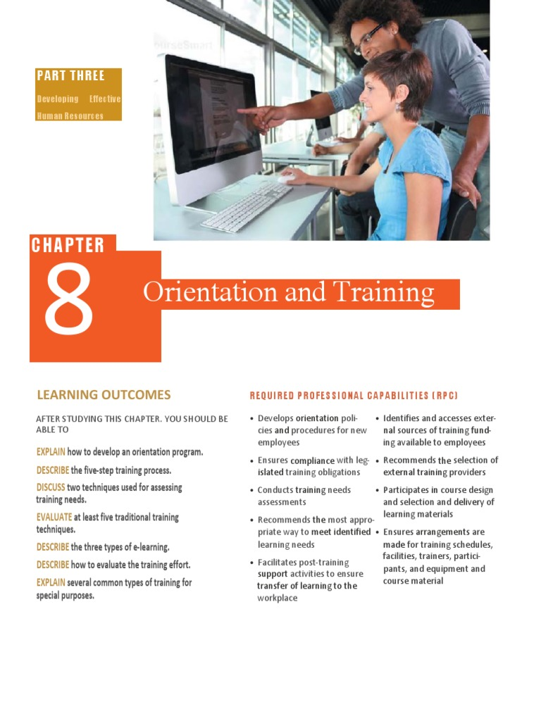HR-Chapter8 pdf | Apprenticeship | Competence (Human Resources)