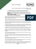 LA CONSTITUCIÓN DE LA CDMX SERA VANGUARDIA EN AL