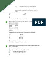 Chapter 8 Self Test Intermediate Accounting II
