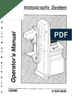 Operator Manual LORAD M3