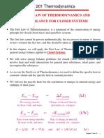 Thermodynamics Chp4 notes