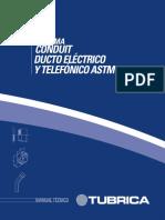 Catalogo Tubrica (Ducto eléctrico y telefonico ASTM.