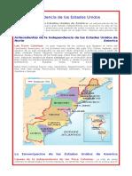 indenpendencia de estados unidos