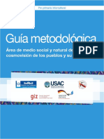 Guía Área de Medio Medio Social Natural y Su Aprendizaje