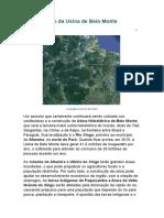 A Construção Da Usina de Belo Monte