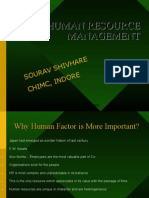 humnan resource mangement for mba