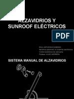 Alzavidrios y Sunroof Electricos