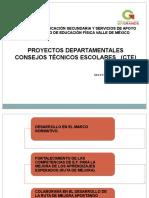 Formato para reporte de proyectos