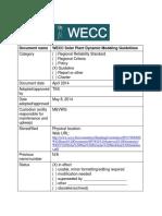 WECC Solar Plant Dynamic Modeling Guidelines