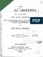 Historia antigua Argentina