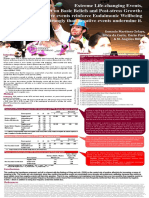 POSTER - CERE2014_ Extreme Life Changing Events Impact on Basic Beliefs and Post-stress Growth