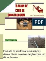 Admon. de Proy. de Construccion