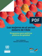 Mujeres en El Sector Minero de Chile