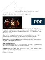 Obra de Teatro Juan Sin Miedo