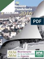 Programa Candelaria 2016